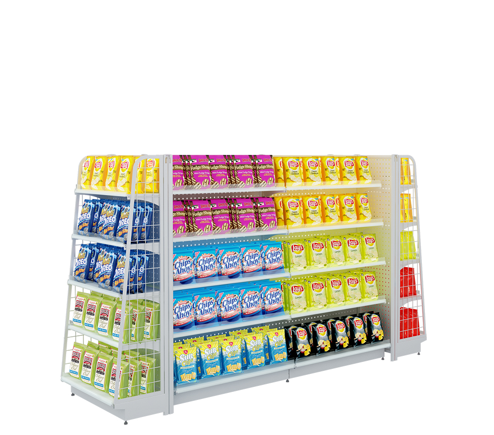 Wholesale Supermarket Display Rack