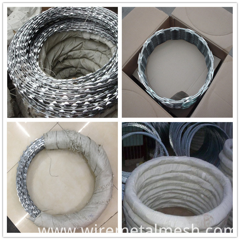barbed wire packing