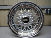 BBS Car Alloy Wheel 20*8.5 Silver 4 Hole