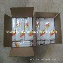 White Wax Haushalt Säule Kerze