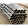 ERW soudure Q235 tuyau en acier au carbone Chine fabricant avec prix compétitif