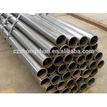 ERW soldadura Q235 tubo de acero al carbono fabricante de China a precios competitivos