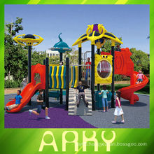 2014 new Commercial good quality plastic playground for amusement park use