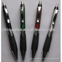 Kunststoff Kugelschreiber drücken