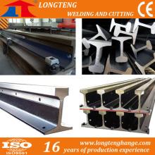Steel Rail, Railway Steel Rail Track/ Iron Rail of CNC Plasma Cutting Machine