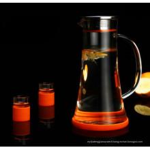 Prime Quality Glassware Ensemble de thé Jarretière