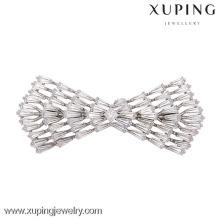 00015-xuping mini-broche argentée de luxe, jolies femmes, broches de mariage