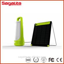 Bateria de Li de alta qualidade Portable Solar Powered LED Lantern