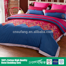 Cotton wholesale bedding sets /Embroidery 100% egyptian cotton bedding set