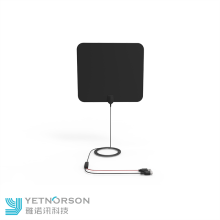 Yetnorson Ultra Thin Flat TV Antenna para interiores