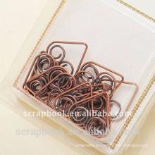 clips de metal del clip de papel