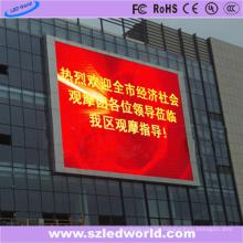Aluminiumkabinett LED-Wand auf Gebäude P8 Front Service im Freien