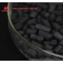 Carbón activado granular a base de carbón para reciclado de reactivos con precio de planta