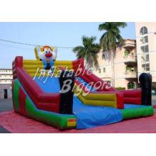 Backyard Clown Jumping Kids Inflatable Dry Slides Inflatabl