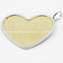 Stainless Steel Heart Pendant Fashion Jewelry for Decoration