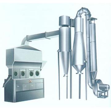 Secador de lecho fluido horizontal