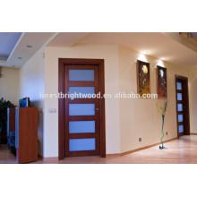 Porta interior do painel nivelado de 5 painéis / portas interiores para a casa
