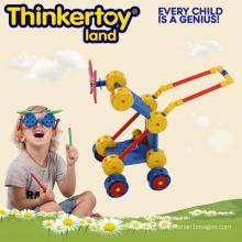 Carrinho de bebê Modelo Conector de Construção Plástico Educationtoy Melhor Presente para Crianças