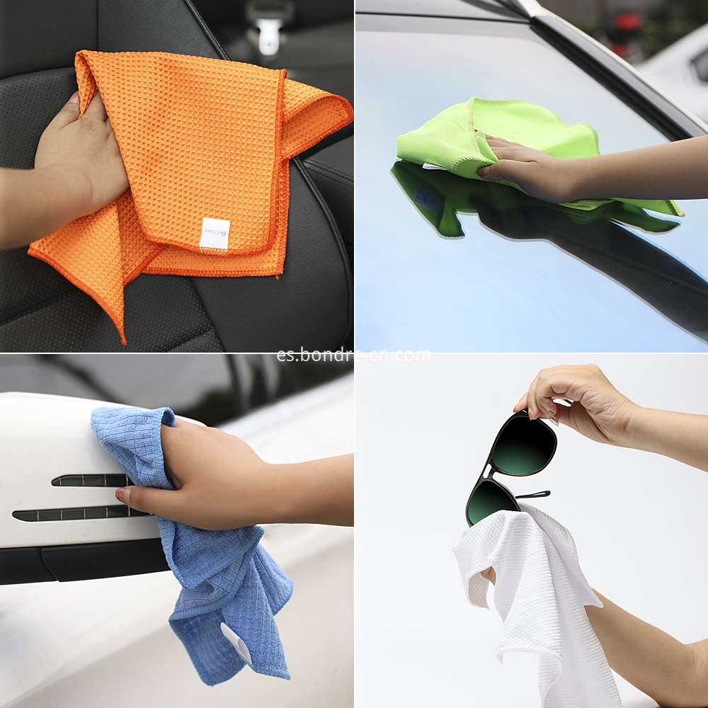 microfiber clean towels