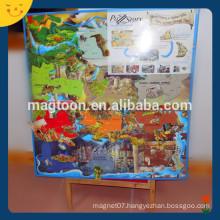 Big promotional large size magnetic fridge puzzle