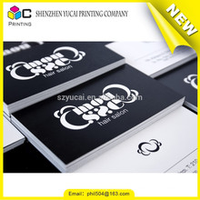 Letterpress printed luxury paper photographer business cards printers