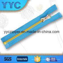# 5 Open End Zipper plástico para ropa deportiva con deslizador personalizado