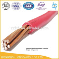 lv copper electric wire 2 4 6 8 10 15 25 35 mm2 pvc insulation wire/bv electric wire