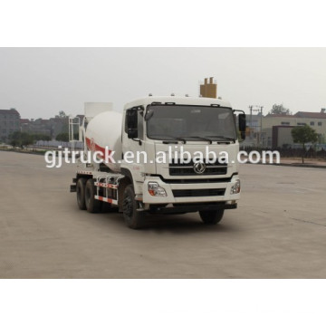 Dongfeng 6*4 drive concrete mixer truck for 6-10 cubic meter