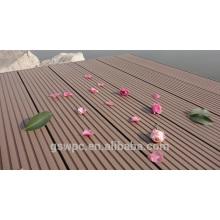 Piso al aire libre / sólido hueco WPC pisos / plásticos de China