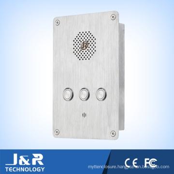 VoIP/SIP Phone Elevator Phone Jr301-2b Waterproof Emergency Telephone