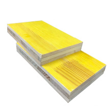 Wholesale High quality 27mm and 21mm thickness three ply shuttering panel with pine core and phenolic glue