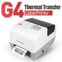 4-дюймовый термотрансферный принтер для ювелирных этикеток со штрих-кодом
