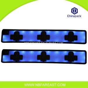 Custom beer LED bar mats rubber