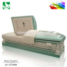 luxury metal casket supplier JS-STZ008