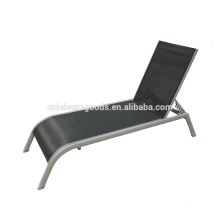 2016 new design outdoor aluminium sling sunbed