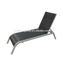 2016 novo design de alumínio ao ar livre sling sunbed