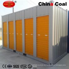 Puerta enrollable abierta lateral modificada 20FT 40FT Contenedor de envío de almacenamiento
