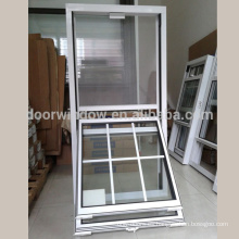 El doble ventana de cristal de desplazamiento de alta calidad colgó el diseño de la ventana para la casa