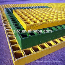 Fiberglass Molded Grating grp mesh walkway grating