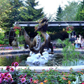 Custom purpose Famous Popular Design Buy dragon Water Fountain