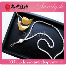 Wholesale Jewelry Fashion Crystal Pearl Bead Lanyard