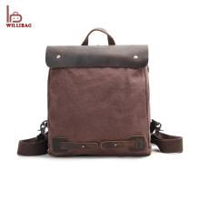 Новый Дизайн Ноутбука Рюкзак Мужчины Кожаный Рюкзак На Заказ