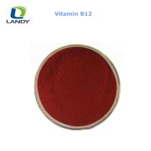 VENTA CALIENTE China Mejor precio vitamina B12 1% grado de alimentación VB12 cianocobalamina