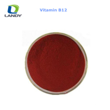 VENTE CHAUDE Chine Meilleur prix Vitamine B12 1% Feed Grade VB12 Cyanocobalamin