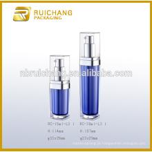 Frasco / garrafa de creme acrílico de 15ml / 30ml, frasco de creme acrílico quadrado / garrafa
