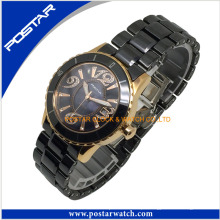 Charme elegante Vogue Ceramic Watch para senhoras