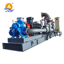 High flow salt water pump