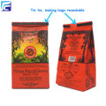 Colorful printed customzied side gusset coffee packaging bag