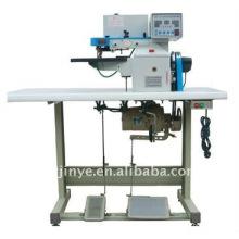 YT-923-2 glue on the electronic semi-automatic folding machine
