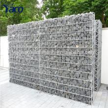 clôture de jardin, treillis métallique soudé gabion panier gabion mur clôture